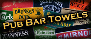 Pub Bar Towels