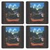 George and Dragon Vintage Pub Sign Coasters - Set of 4