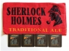 Sherlock Holmes Bar Towel and 4 matching Coasters from Pub World