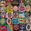 25 British and Irish Pub Brewery Vintage Beer Bottle Labels