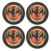 Bacardi Coasters from Pub World – Set of 4
