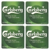 Carlsberg Coasters from Pub World – Set of 4