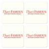 Famous Grouse Coasters from Pub World – Set of 4