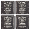 Jack Daniels Coasters from Pub World – Set of 4