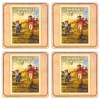 Johnnie Walker Coasters from Pub World – Set of 4