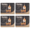 Teacher's Scotch Whisky Coasters from Pub World – Set of 4