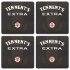 Tennents Extra Coasters from Pub World – Set of 4