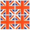 Union Jack Coasters from Pub World – Set of 4